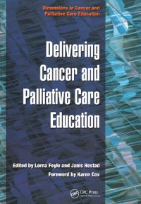 Cover Delivering Cancer and Palliative Care Education