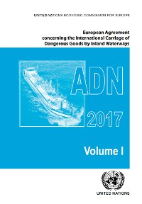 Cover European Agreement Concerning the International Carriage of Dangerous Goods by Inland Waterways (ADN) 2017