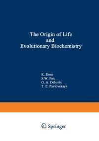 Cover Origin of Life and Evolutionary Biochemistry