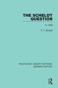 Cover Scheldt Question
