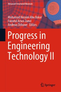 Cover Progress in Engineering Technology II