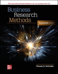 Cover ISE eBook Online Access for Business Research Methods