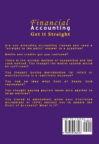 Cover FINANCIAL ACCOUNTING GET IT STRAIGHT