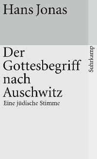 Cover Der Gottesbegriff nach Auschwitz