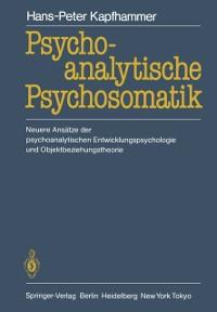 Cover Psychoanalytische Psychosomatik