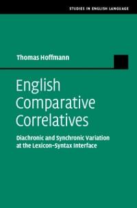 Cover English Comparative Correlatives