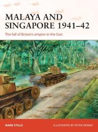 Cover Malaya and Singapore 1941 42