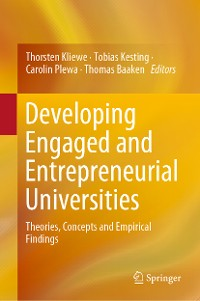 Cover Developing Engaged and Entrepreneurial Universities