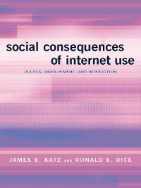 Cover Social Consequences of Internet Use