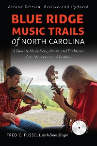 Cover Blue Ridge Music Trails of North Carolina