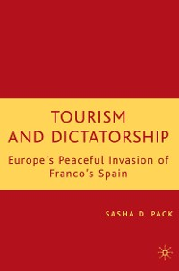 Cover Tourism and Dictatorship