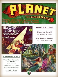 Cover PLANET STORIES [ Collection no. 1 - Winter 1940 / Spring 1941 ]