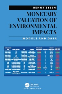 Cover Monetary Valuation of Environmental Impacts