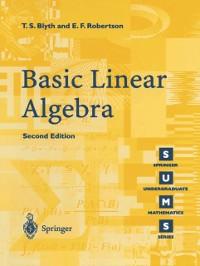 Cover Basic Linear Algebra