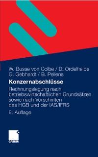 Cover Konzernabschlüsse