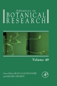 Cover Advances in Botanical Research