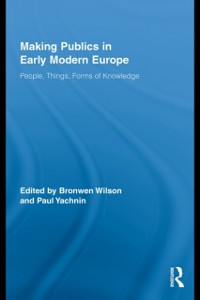Cover Making Publics in Early Modern Europe