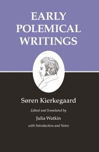 Cover Kierkegaard's Writings, I, Volume 1