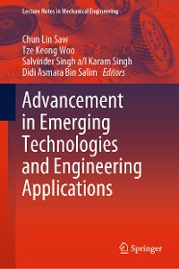 Cover Advancement in Emerging Technologies and Engineering Applications