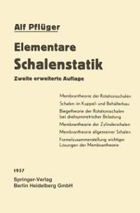 Cover Elementare Schalenstatik
