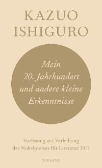 Cover Mein 20. Jahrhundert und andere kleine Erkenntnisse