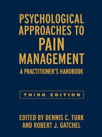 Cover Psychological Approaches to Pain Management