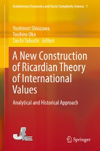 Cover A New Construction of Ricardian Theory of International Values