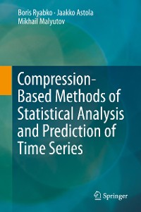 Cover Compression-Based Methods of Statistical Analysis and Prediction of Time Series