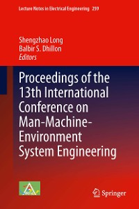 Cover Proceedings of the 13th International Conference on Man-Machine-Environment System Engineering