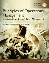 Cover Principles of Operations Management: Sustainability and Supply Chain Management, Global Edition