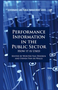 Cover Performance Information in the Public Sector