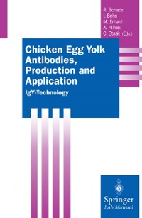 Cover Chicken Egg Yolk Antibodies, Production and Application