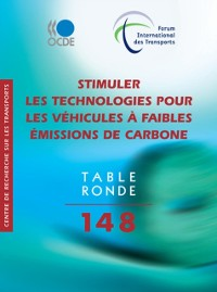 Cover Tables rondes FIT Stimuler les technologies pour les vehicules a faibles emissions de carbone