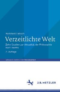 Cover Verzeitlichte Welt