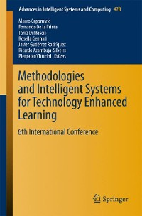 Cover Methodologies and Intelligent Systems for Technology Enhanced Learning