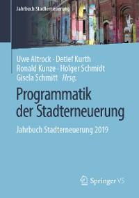 Cover Programmatik der Stadterneuerung