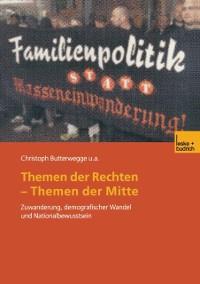 Cover Themen der Rechten - Themen der Mitte