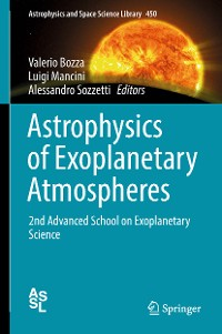 Cover Astrophysics of Exoplanetary Atmospheres