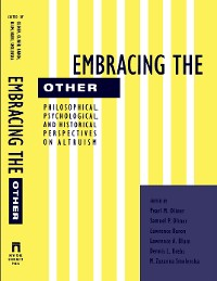 Cover Embracing the Other