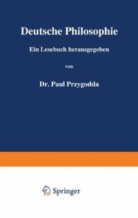 Cover Deutsche Philosophie