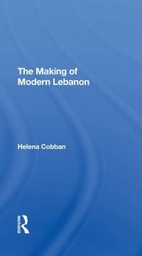 Cover Making Of Modern Lebanon