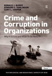 Cover Crime and Corruption in Organizations
