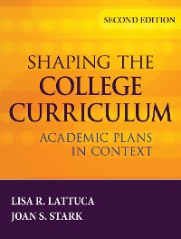 Cover Shaping the College Curriculum