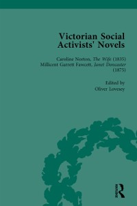 Cover Victorian Social Activists' Novels Vol 1