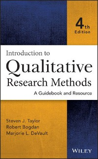 Cover Introduction to Qualitative Research Methods