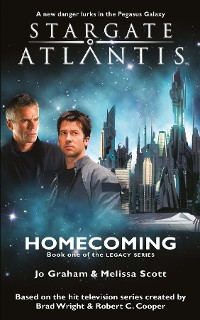 Cover STARGATE ATLANTIS Homecoming (Legacy book 1)
