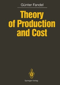 Cover Theory of Production and Cost