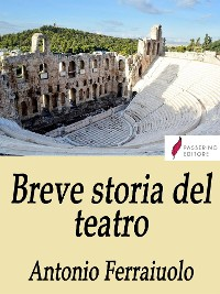 Cover Breve storia del teatro