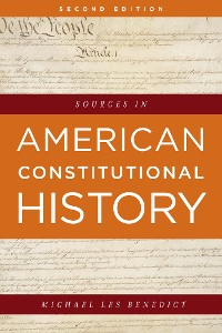 Cover Sources in American Constitutional History