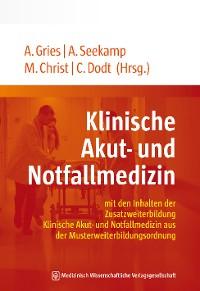 Cover Klinische Akut- und Notfallmedizin